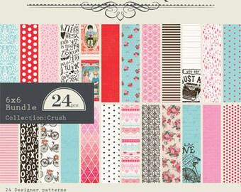 "Authentique Paper Collection ""Crush"" 6x6 Pad"