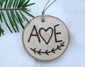 Couples Ornament (personalized)