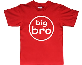Big Brother Circle Tshirt - pregnancy announcement shirt - pick your colors!