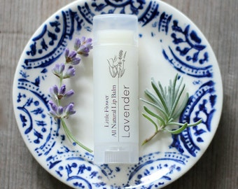 Lavender Lip Balm Lavender Wedding, Lavender essential oil scented Lip Balm, Natural Lip Balm, Gift for Girlfriend ideas Home & Living Bath