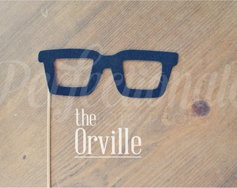 Hipster Glasses | Prop Glasses | Retro Photo Booth Prop
