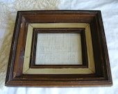 Vintage Rustic Country Farmhouse Picture Frame