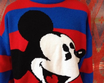 1980's Disney Mickey Mouse sweater XL