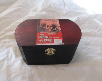 The Brain That Wouldn't Die Classic Horror Keepsake Jewelry Box