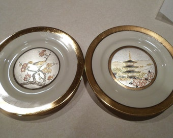 Chokin Decorative plates