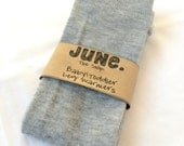 Baby Toddler Leg Warmers, babylegs, solid gray