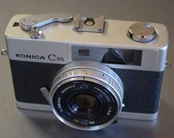 Vintage Konica C35 Camera - We have a vintage camera for you