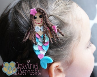 Boutique Mermaid Hair Clip - Meet Miss Merlita