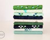 Fat Quarter Bundle Cookie Book, 9 Pieces, Kim Kight, Cotton+Steel, RJR Fabrics, 100% Cotton Fabric