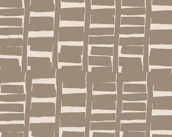 Gramercy Rush Hour in Tan, Leah Duncan, Art Gallery Fabrics, 100% Cotton Fabric, GRA-3508