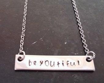 Beyoutiful necklace