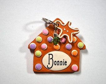 Gingerbread House Dog Tag / Pet Tag