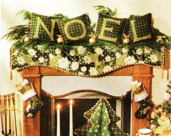Noel Christmas Ornaments and Decor Pattern Simplicity 7846
