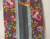 Journaling storage band bag large a sunshinenellie original pattern