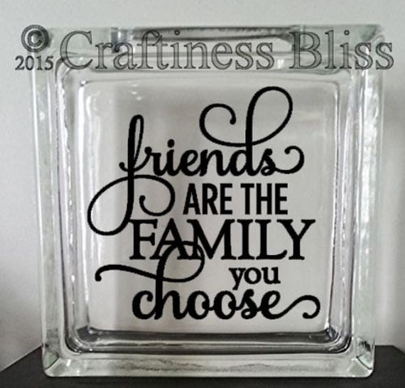 Family We Choose Quotes: Friends Are The Family You Choose Inspirational By