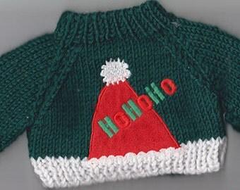 Bear Christmas Sweater with HoHo Theme