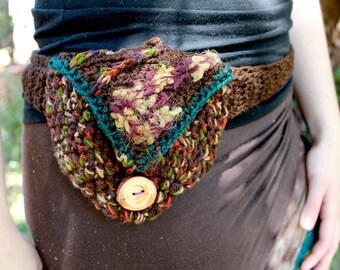 Gaia Crochet Hip Pouch