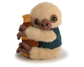 Sloth Amigurumi Crochet Pattern PDF Instant Download - Artemis the Sloth Astronomer