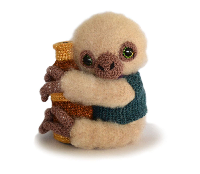 Free Amigurumi Sloth Pattern : Sloth Amigurumi Crochet Pattern PDF Instant Download Artemis
