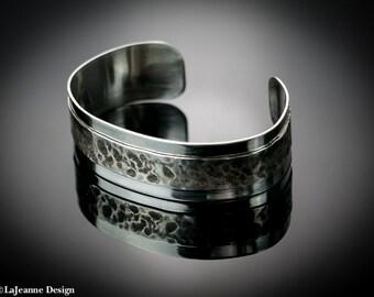 Eternal - Sterling Silver Cuff Bracelet