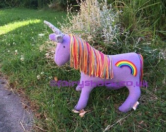 Lavender Sparkle the baby Unicorn