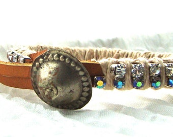 Rhinestone Layering Bracelet