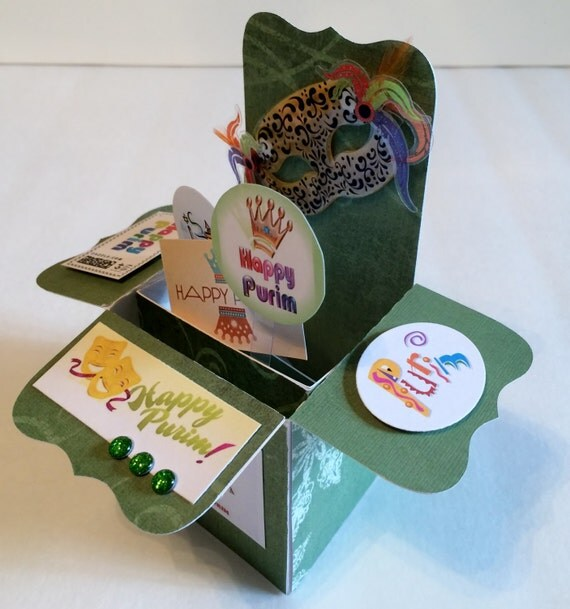 Hamilton 39 s homemade happy purim pop up box by for A treasury of persian cuisine