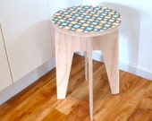 Objectify Printed Round Side Table