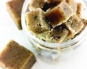 Coffee Sugar Scrub Cubes - Coffee Scrub - Coffee Lovers Gift - Gift For Him - Gift For Her - Coffee Gift