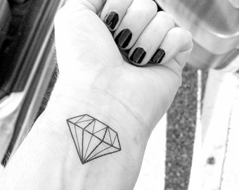 Diamond Tattoo - Diamond Temporary Tattoo