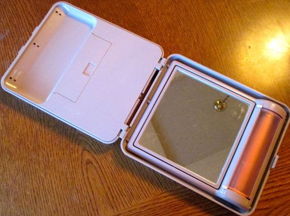 Vintage Makeup Mirror Clairol Model Lm 9 Folding 2 Sided
