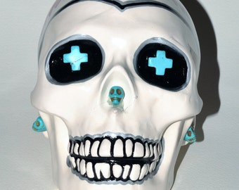 Do you Know the way to Santa Fe? Ceramic Skull