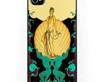 Art Deco Aphrodite Flapper iPhone Case, gold and black, Vintage iPhone 6 case, roaring twenties iPhone 5 case, iPhone 5C, iPhone 7 Case