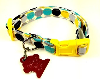 Bubbles - Dog Collar - Adjustable