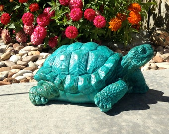 Concrete Desert Tortoise Statue