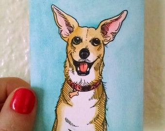Custom Mini Pet Portrait