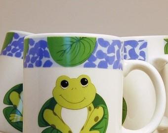 Tienshan Frog Mug Stoneware