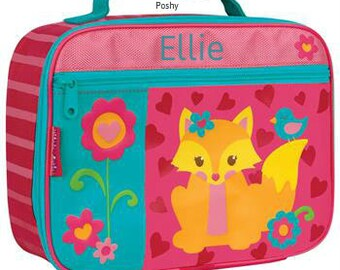 Personalized Lunch Box Bag Stephen Joseph Fox Girl