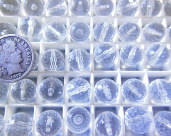 Swarovski 5003  9mm Clear Crystal Beads - 6 Pieces