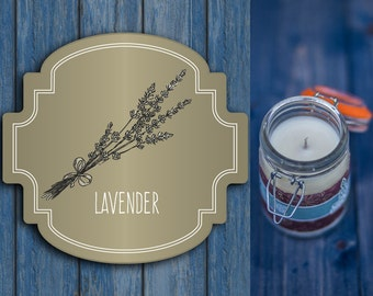 Scented Candles - Natural Candle - Candle - Aromatherapy candle - Lavender candles