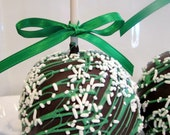 St. Patrick's Day Chocolate Apples - 3