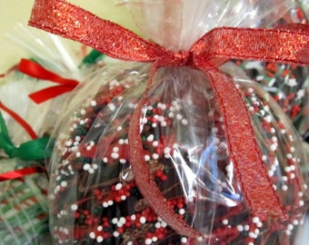 4-Pack Holiday Caramel Chocolate Apples