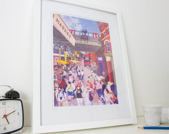 Borough Market - Studio Print