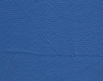 """54"""" Wide Champion Vinyl Dodger blue Upholstery Leather fabric by the yard"""