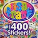 BRAND NEW Lisa Frank Sticker Book over 400 stickers- Kawaii - Dogs Kitties Bears Lions Hearts Rainbows Ice Cream