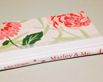 Pink Floral Zipper Book Clutch/Case