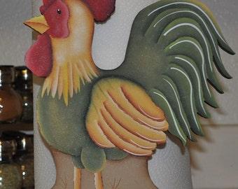 Chicken paper towel holder