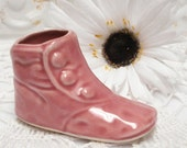 Pink Baby Shoe Pottery