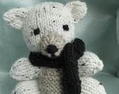 SPECIAL ORDER for KAT:   Stuffed Bear, Knitted, Amigurumi, Toy, Gift, Soft, Plush