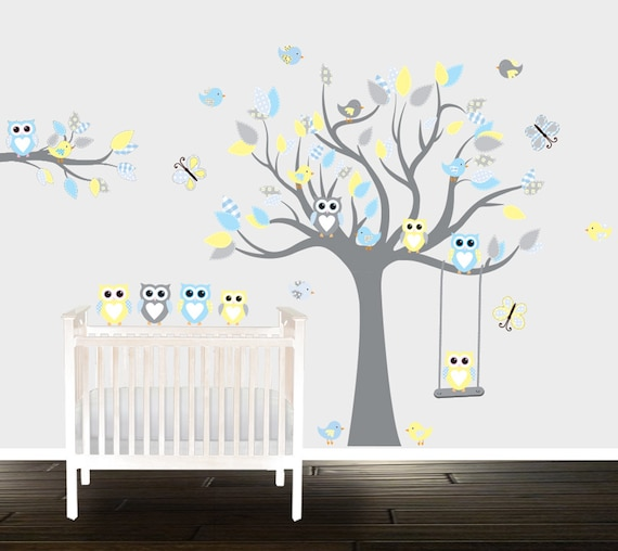 Owl Wall Decals For Nursery Adorable Owl Wall Decals For